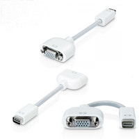 High quality Mini DVI to VGA cables Monitor adapter cable cabo kabel for Apple Mac free shipping