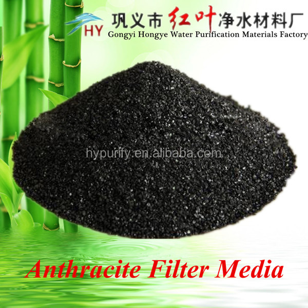 Granular bulk anthracite filter media for sewage water treatment industry