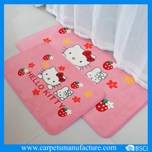 manufacture wholesale custom logo printing rug for room