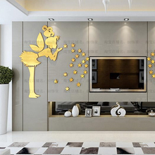 Poster Angel Star Home Art Decoration Wall Sticker Acrylic Wall Decal