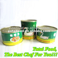 Halal Canned Food Eat Healthy Food Curry Goose Wholesale