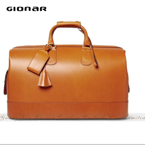 Good Design Genuine Leather Man Bag Duffle Bag Business Travel Bag
