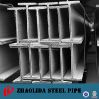steel h beam from china welded light weight h beams