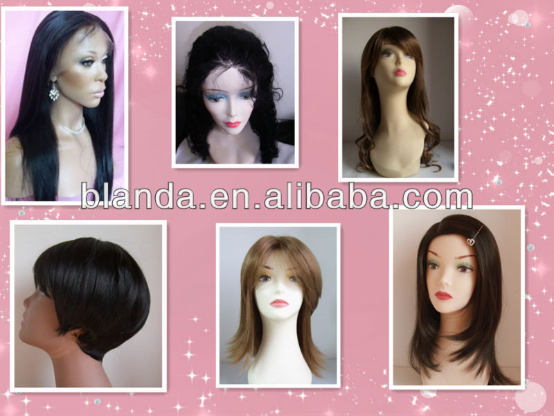 2013 New year Dropship malaysian hair lace front wig