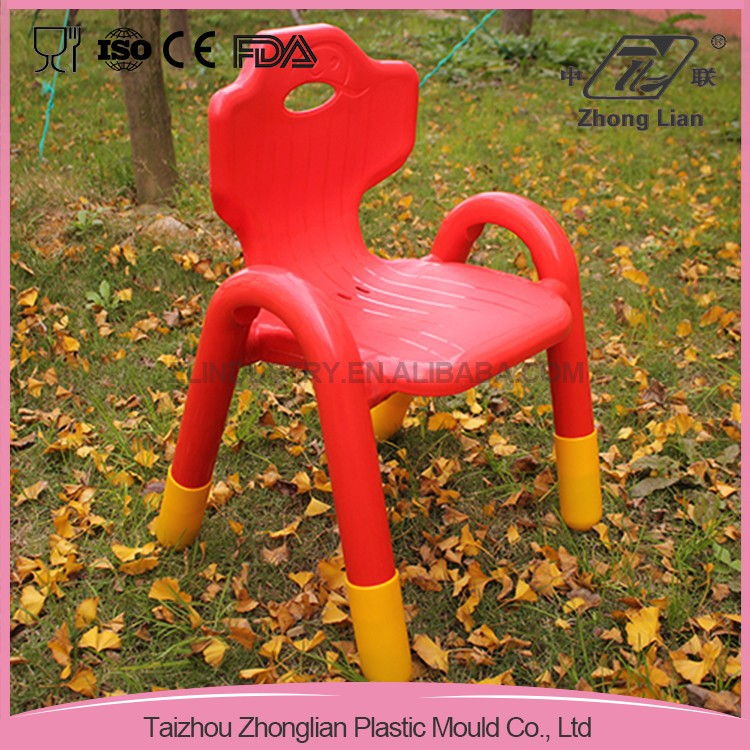 PP plastic stacking elbow baby chair