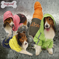 Wholesale Portable Waterproof Large pet Raincoat for dogs