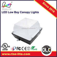 UL listed LED Canopy light lighting lights fixture fixtures Low bay Gas Station packing garage category