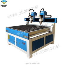 3D cnc router 1212 carving for aluminu, wood, mdf, acrylic QD-1212-2