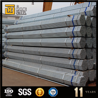 small size gi pipe ,white silvery steel pipe ,schedule 80 galvanized pipe