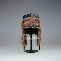 unisex winter quilting trapper hats