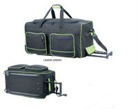 2014 hot sale travel bag with trolley