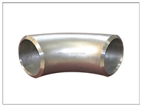 ASME standard stainless steel ASTM A403 WP347H 90 degree elbow