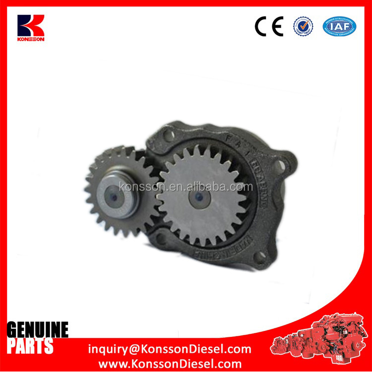 Top quality Genuine diesel engine parts lub oil pump 3047549 for construction machinery