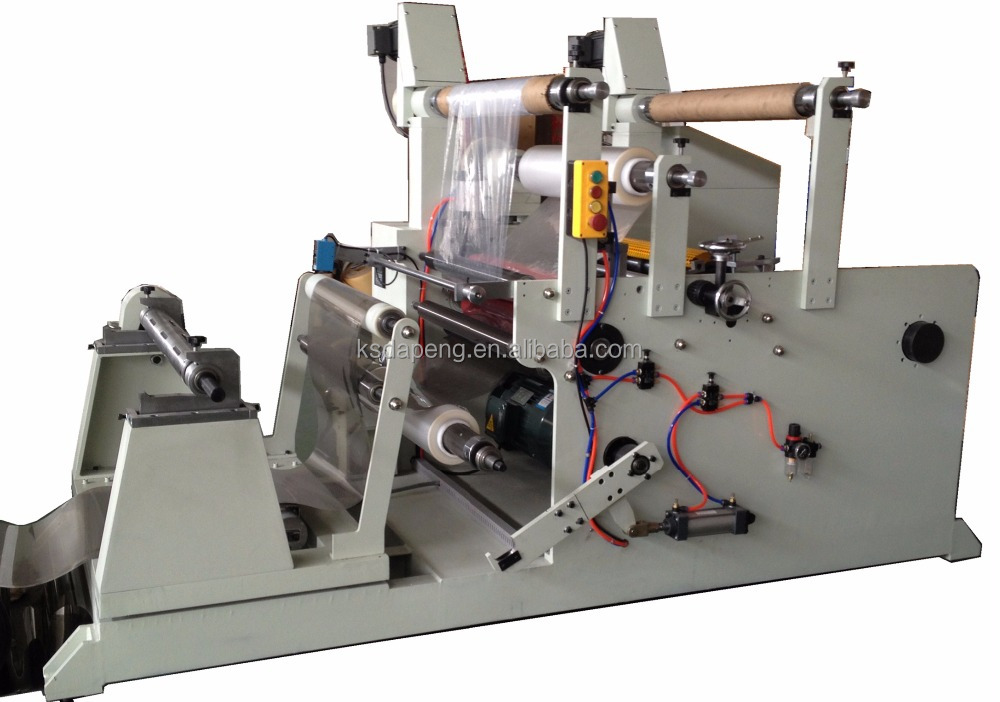 Adhesive Tape / Plastic Film / Paper / Aluminum Foil Slitting Laminating Machine