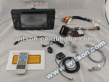 WITSON auto radio car dvd Octavia II with USB port and iPod ready