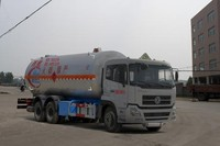 25 CBM 6*4 LPG Spherical transportation Tank for propane