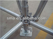 EN12810 Standard And SGS Certified concrete slab roof formwork scaffolding system ( Real Factory in Guangzhou)