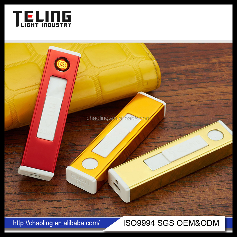 Mini lighter plastic lighter usb eletronic lighter