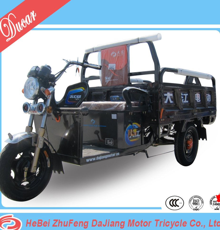 China Ducar JinFeng NO.4 electric motor tricycle E rickshaw E trike with 48V800W diffrential motor for cargo