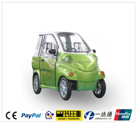 Popular in european EEC approved 1+1 seat electric vehicles for teenagers adults old person