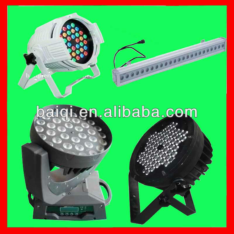 2013 Hot!GuangZhou CE RHOS DMX512 LED stage lighting pro light china factory