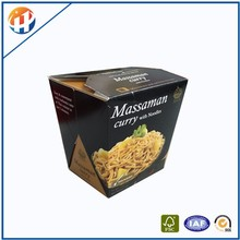 Custom food grade paper boxes fastfood packaging