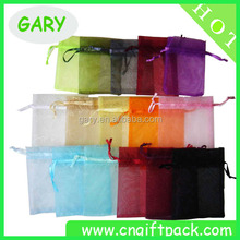 fashionable customized logo small drawsting fabric printing pouch, personalized organza bags