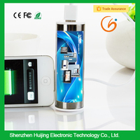 electronics mini projects led advertisement power bank for mobile