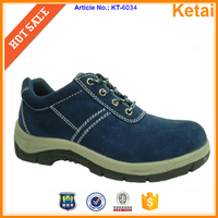 Soft PU material out sole safety boots make in China Ketai