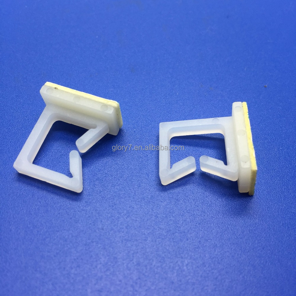 WT 3M Tape Cable clamp Wall Wire Clips adhesive Clamp Lines mounting clips