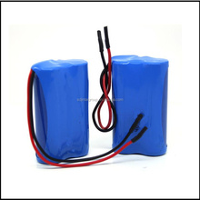 12v 4400mah 18650 cylindrical li-ion battery pack rechargeable for CCTV camera