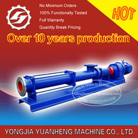 mono screw pump for honey and slurry made of stainless steel