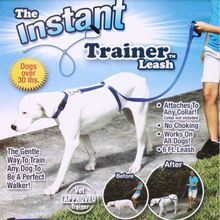 Instant Trainer Dog Leash Trains Dogs 30 Lbs Stop Pulling As Seen On Tv Dog Walk
