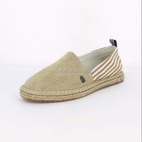 2018 Latest Design Hemp Rope Outsole Shoes for Girl and Women Casual Shoes