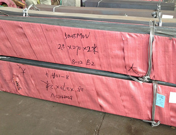 material 1.4116 stainless steel plate, thickness 6mm(-0, +0.2mm)