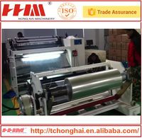 Automatic plastic film ldpe stretch film slitting machine