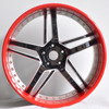 20x8.5 inch Deep Concave Three Piece Forged Wheel 5*114.3