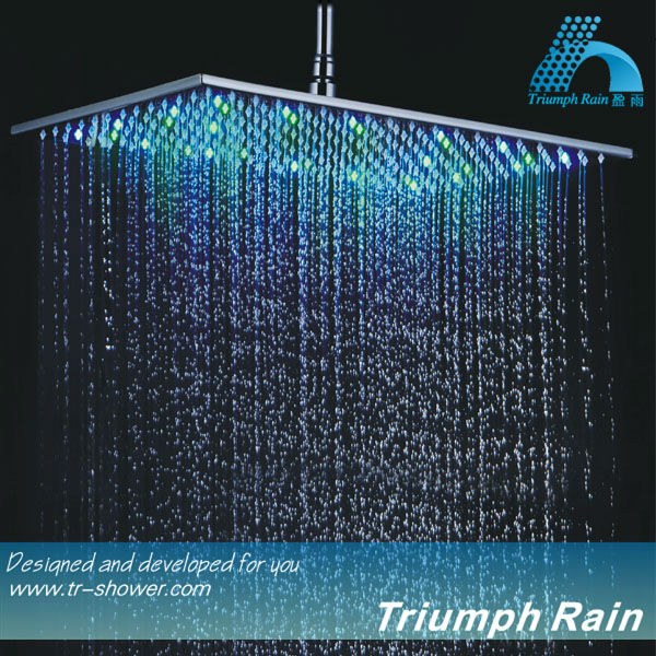 Best Quality Fixed shower heads Ceiling overhead big led shower head