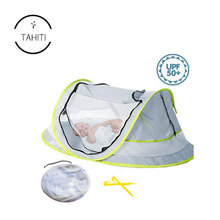 Hot Selling Instant Pop Up Portable With Mosquito Net Pad Travel Crib Baby Bed beach Tent