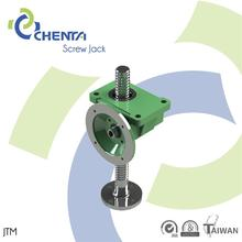 JTM 10t screw jack for feeder straighten acme screw translator alloy dc motor worm gearbox with flange