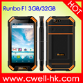 5.5 Inch Corning Gorilla Big Touch Screen IP67 Rugged Smart Phone Waterproof Rugged Smartphone Runbo F1