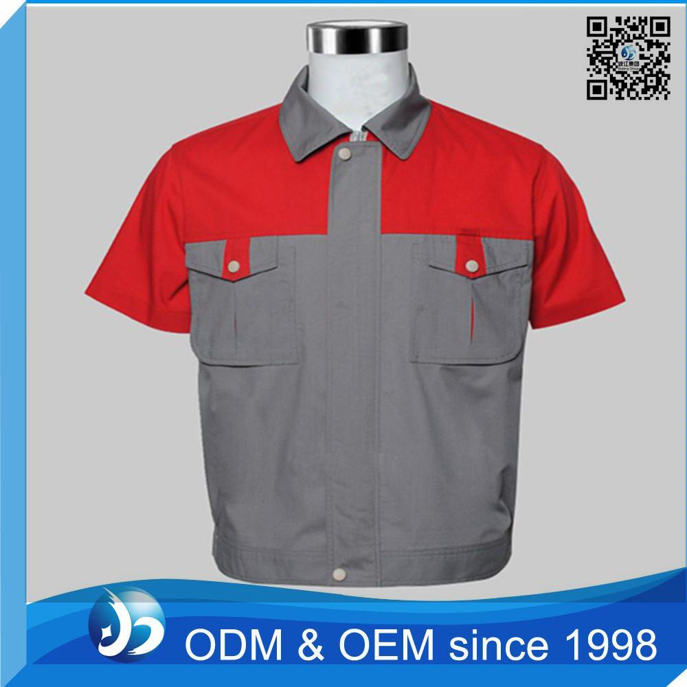 Oem 100 cotton work uniform shirt manufacturer of for 100 cotton work shirts