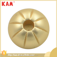 Imitation gold cheap alloy cap shape cover buttons metal