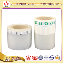 PA/PE air valve customted printed roll film for inflatable air cushion bag
