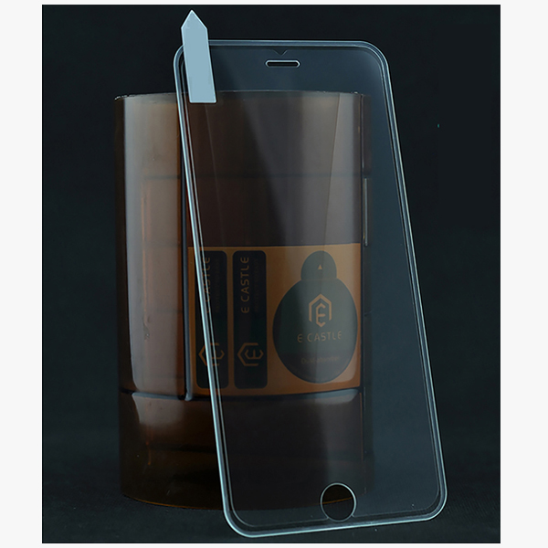 New Products Soft Silicone Edge 5D Tempered Glass Film Screen Protector For iPhone 7 Full Cover Tempered Glass
