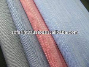 100% Cotton Oxford Chambray Fabric