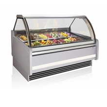 Manufacturer cheaper price ice cream refrigerator display cabinet for sale