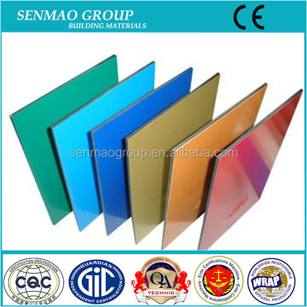 exterior aluminum facade panels for building wall cladding