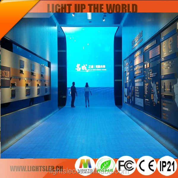 HD SMD LED Screen LED Display Outdoor Slim Mesh P10 Interactive LED Dance Floor Panels with High Quality