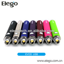 2014 Kanger EVOD USB Battery with EGO 510 Thread Various Colors Available